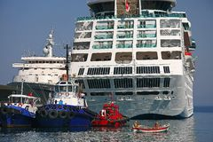 Kusadasi port Royalty Free Stock Images