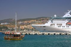 Kusadasi port Stock Photography