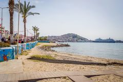 Kusadasi Sea Front Royalty Free Stock Photos