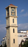 Kusadasi tower. City Tower in the resort town Kusadasi Turkey Royalty Free Stock Photos