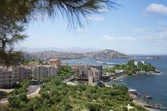 Kusadasi town, Turkey. Kusadasi is a resort town on Turkey's Aegean coast Royalty Free Stock Image