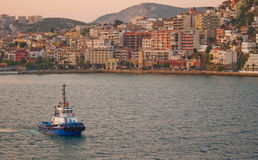 Kusadasi, Turkey at dawn Royalty Free Stock Photo