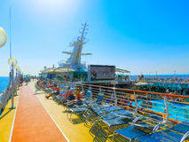 Kusadasi, Turkey - June 10, 2015: Cruise ship Splendour of the Seas by Royal Caribbean International Royalty Free Stock Photos