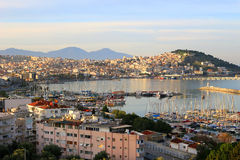 Kusadasi, Turkey. Sunrise on the bay in Kusadasi on the Agean Sea, Turkey Stock Photos