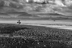 Kusamba salt farmer Bali Royalty Free Stock Images