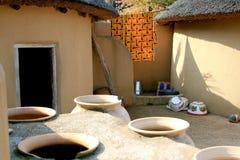 kusasi s домоустройства Ганы стоковое изображение