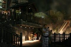 Kusatsu -日本 免版税库存照片