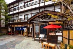 Kusatsu Onsen в Gunma, Японии стоковое изображение rf