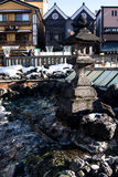 Kusatsu onsen Photographie stock libre de droits