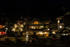 Kusatsu onsen. Famous hot spring resort in Gunma Prefecture, Japan Stock Photo