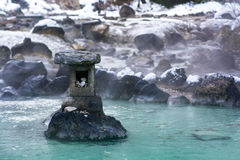 Kusatsu onsen. Famous hot spring resort in Gunma Prefecture, Japan Stock Image