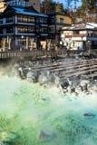 Kusatsu onsen Royalty Free Stock Image