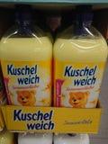 Kuschelweich tygsoftener arkivbild