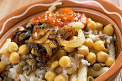 Kushari Royalty Free Stock Photos