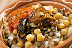 Kushari stock photography