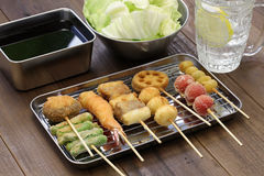 Free Kushiage, Japanese Food Royalty Free Stock Photo - 61648475