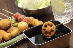 Kushiage, japanese food Stock Images