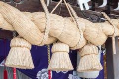 Kushida Shrine Rope Stock Photography