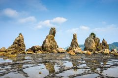 Kushimoto Japan kust arkivfoto