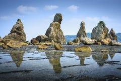 Kushimoto, Japonia linia brzegowa zdjęcie royalty free