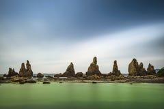 Kushimoto, Japonia wybrzeże fotografia royalty free