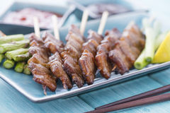 Kushiyaki Royalty Free Stock Photography