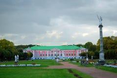 Kuskovo公园在莫斯科 宫殿博物馆 免版税库存图片