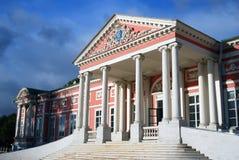 Kuskovo公园在莫斯科 宫殿博物馆 免版税库存照片