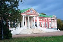 Kuskovo公园在莫斯科 宫殿博物馆 图库摄影