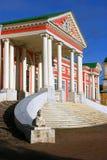 Kuskovo公园在莫斯科 故宫博物院 免版税库存照片