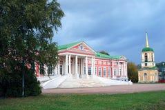 Kuskovo公园在莫斯科 故宫博物院 库存图片