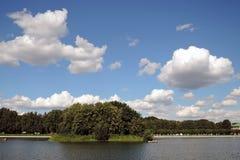 Kuskovo公园在莫斯科 库存照片