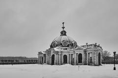 Kuskovo宫殿在莫斯科 库存照片