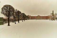 Kuskovo宫殿在莫斯科 库存图片