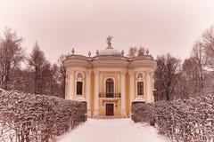 Kuskovo宫殿在莫斯科 免版税库存照片