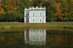 Kuskovo庄园在莫斯科,俄罗斯 免版税库存照片