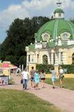 Kuskovo注标Sheremetevs 18-19世纪8月 图库摄影