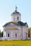 Kuskovo 圣洁十字架的寺庙 救主1737-39 库存照片