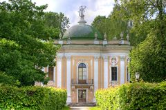 Kuskovo. Russian histori park in Moscow Royalty Free Stock Image
