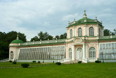 Kuskovo estate, Moscow: Greenhouse Royalty Free Stock Image