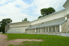 Kuskovo estate, Moscow: Greenhouse wing Stock Photo