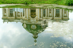 Kuskovo estate, Moscow: reflection of the Grotto Stock Photo