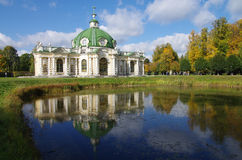 The Kuskovo estate in Moscow, Russia Royalty Free Stock Photography