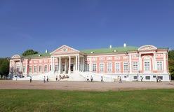 Kuskovo estate of the Sheremetev family summer day Royalty Free Stock Image