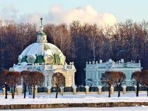 Kuskovo estate. View of the Grotto Royalty Free Stock Photos