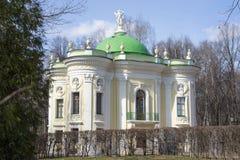 Kuskovo. Hermitage pavilion in English landscape garden of Kuskovo. Built in 1765—1767. Moscow, Russia Stock Photo