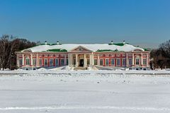 Big Palace in Kuskovo Stock Photography