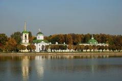kuskovo moscow Royaltyfri Foto