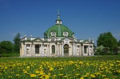 Kuskovo nieruchomość Sheremetev rodzina w Moskwa, Rosja Obraz Stock