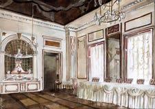 Kuskovo Palace Stock Image